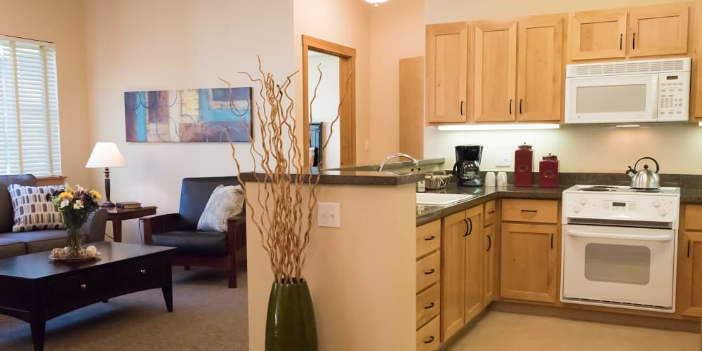 Cozy apartment in senior living facility at The Springs at Wilsonville in Wilsonville, Oregon