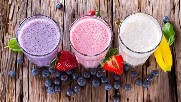 Protein shakes and smoothies at {{location_name}} in {{location_city}}, {{location_state_name}}