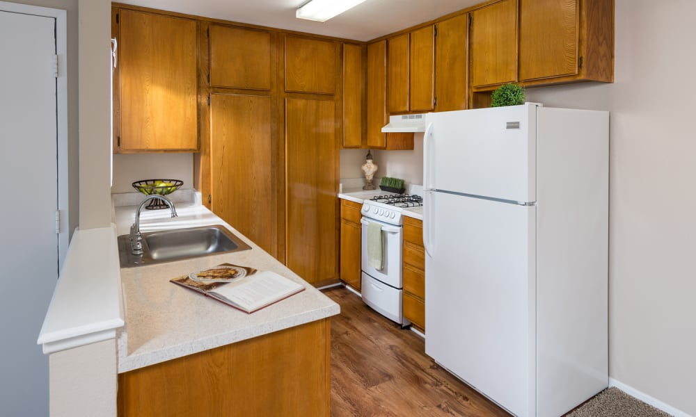 Kitchen at The Villas at Rowland Heights in Rowland Heights, CA