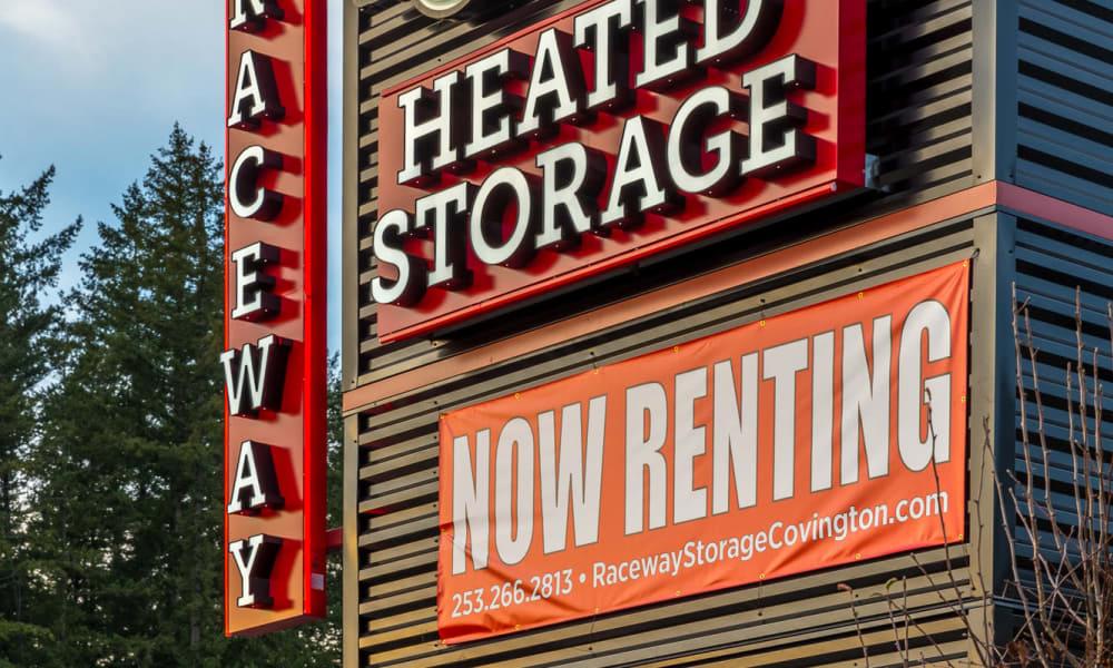 Raceway Heated Storage - Covington in Covington, Washington building exterior