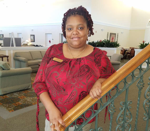 Lashunda Mitchell, Resident Care Coordinator at Savannah Grand of Amelia Island in Fernandina Beach, FL