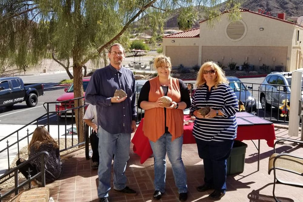 outdoor event at Lakeview Terrace of Boulder City