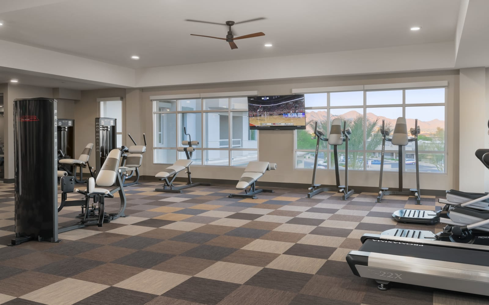 District at Scottsdale cardio and fitness center