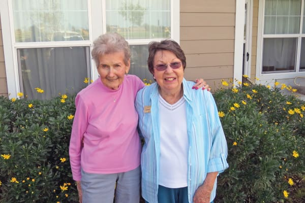 Pat Colburn, a resident at Camden Springs Gracious Retirement Living in Elk Grove, California