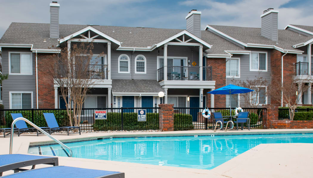 The pool at The Courtyards in Tulsa, Oklahoma