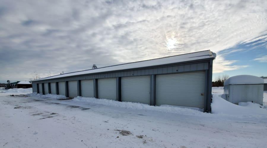Exterior of outdoor units at KO Storage of Brainerd in Brainerd, Minnesota