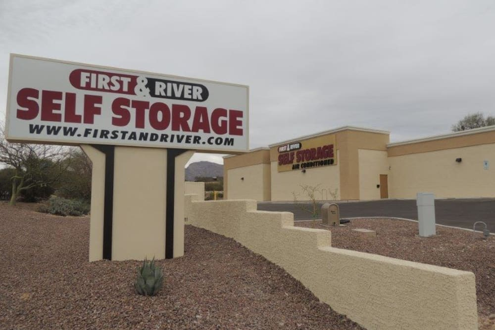 First and River Self Storage in Tucson AZ