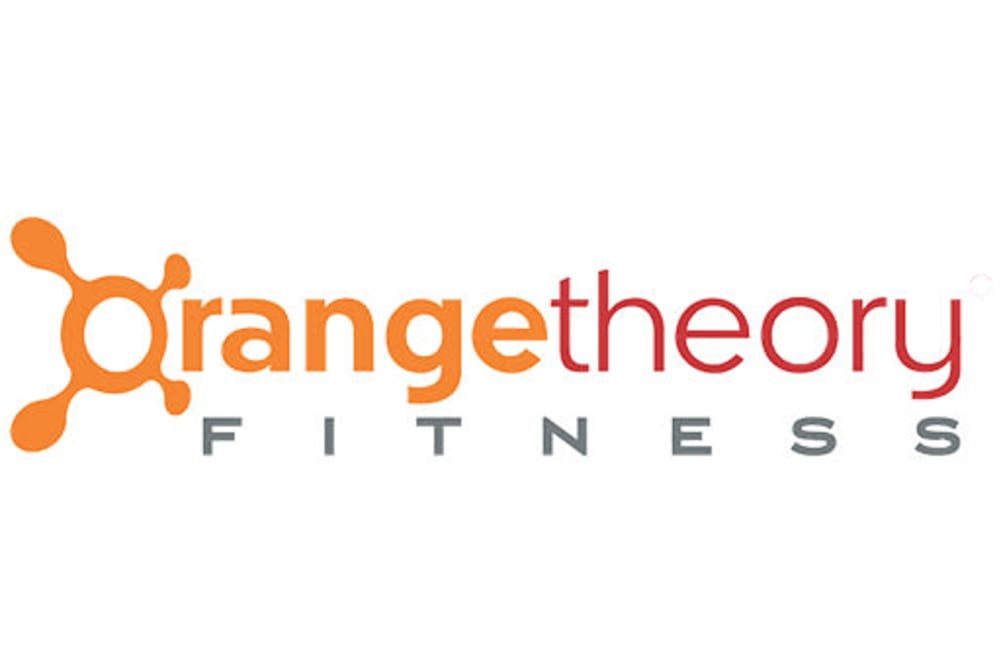 Orange Theory logo, a fitness center near Inman Quarter in Atlanta, Georgia