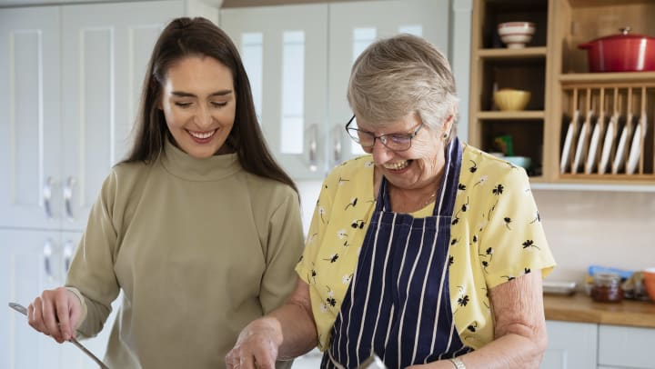 Challenge yourself this year to use a new approach that will improve connection with your loved one.