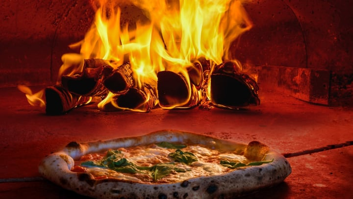 Traditional wood-fired pizza oven in a blog article on our website at Granite 550 in Casper, Wyoming