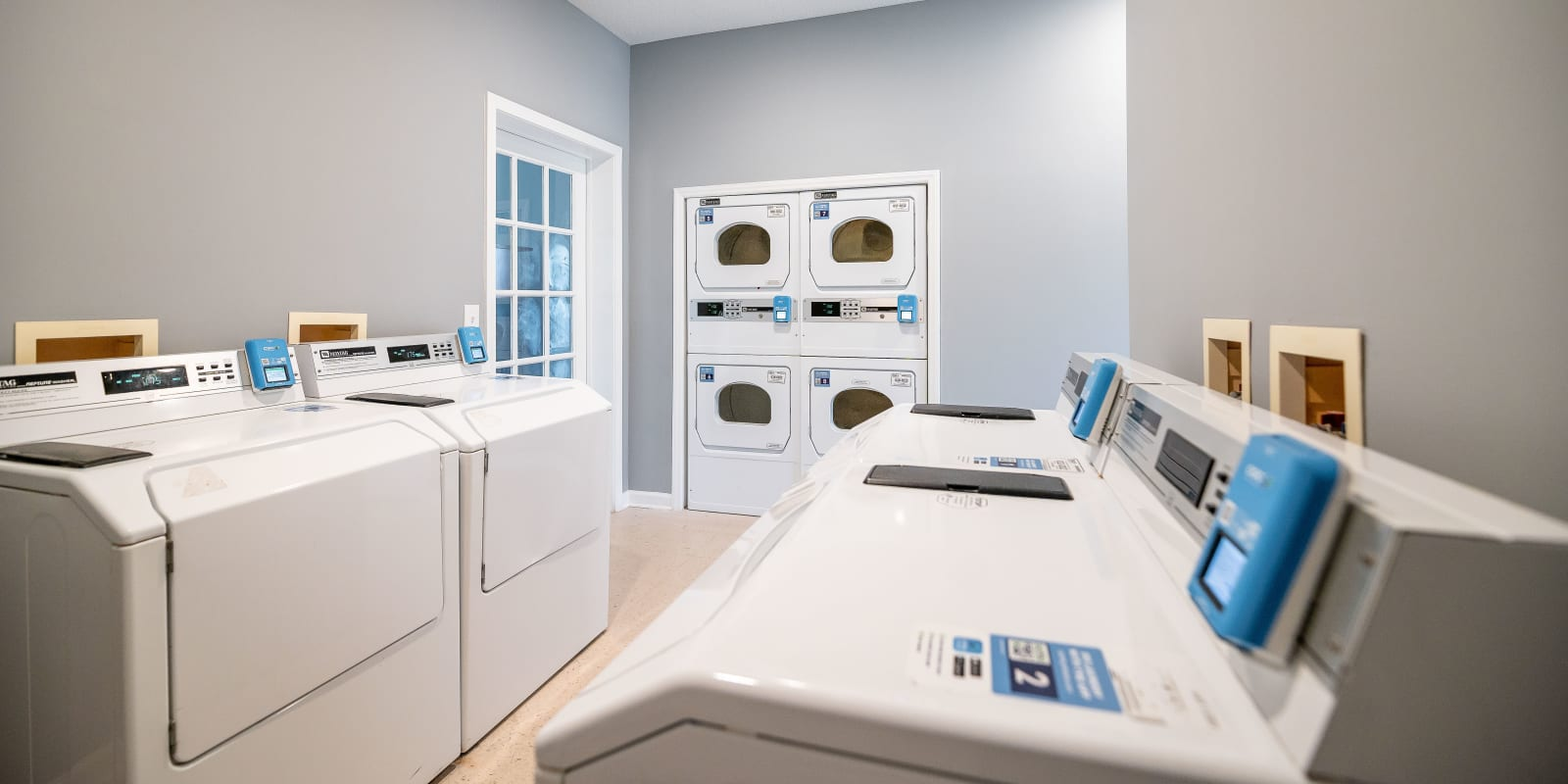 Laundry Facility at Clemmons Station Apartment Homes in Clemmons, North Carolina