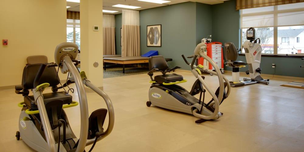 Cardio therapy at Mission Healthcare at Renton in Renton, Washington.