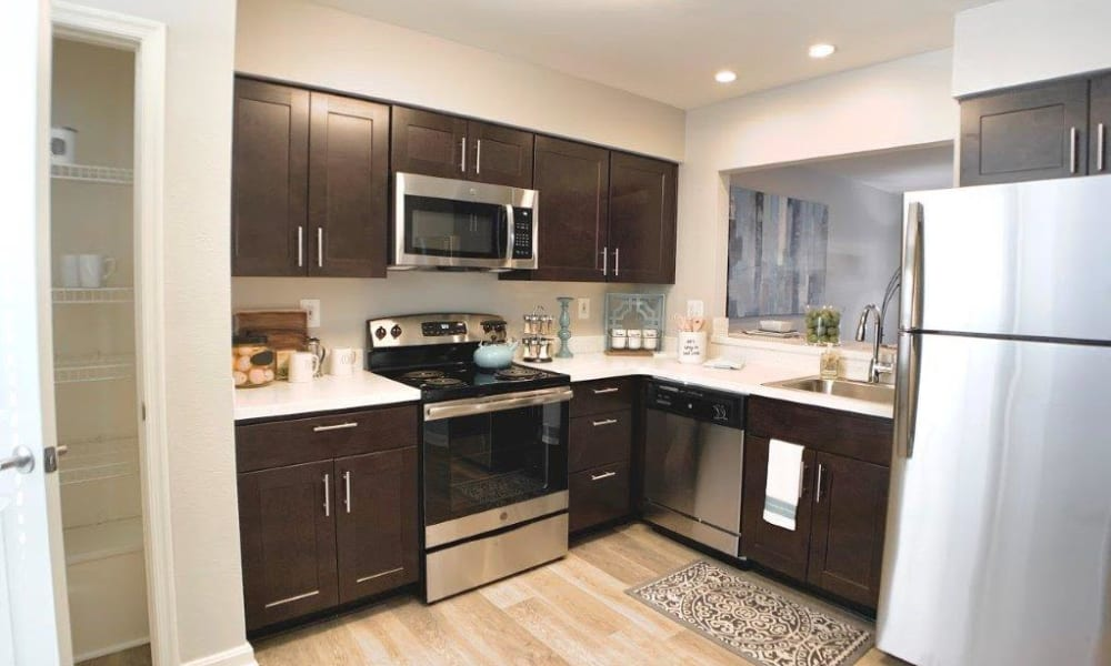 Kitchen at Villas at Greenview West in Great Mills, Maryland