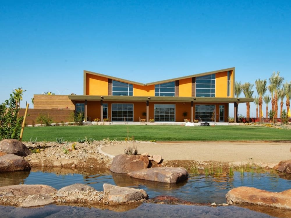 Resident visitors center at BB Living at Eastmark in Mesa, Arizona