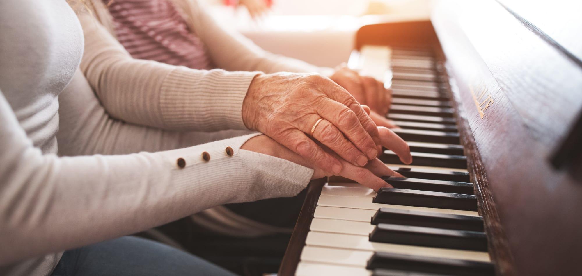 Memory care at Milestone Senior Living in Woodruff, Wisconsin.