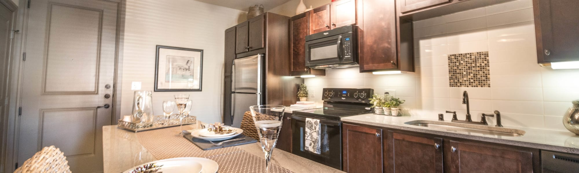 Floor plans at Union At Carrollton Square in Carrollton, Texas