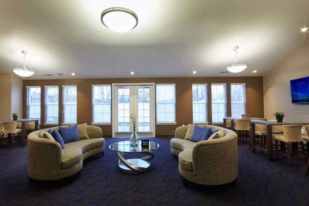 Clubhouse at President Madison Apartments in Madison Heights, Michigan