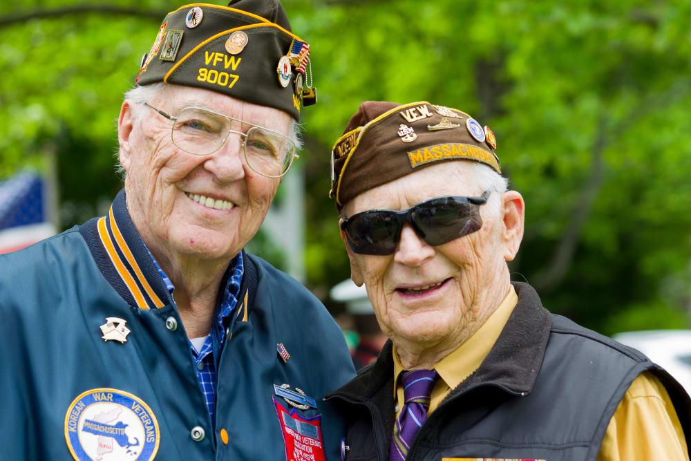 Veteran residents at Harmony at Spring Hill in Lorton, Virginia
