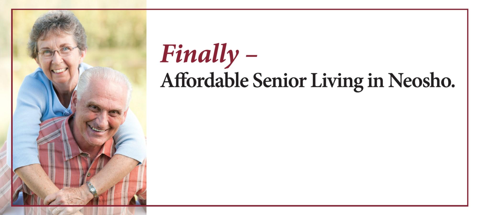 Senior living at Henley Place in Neosho, Missouri