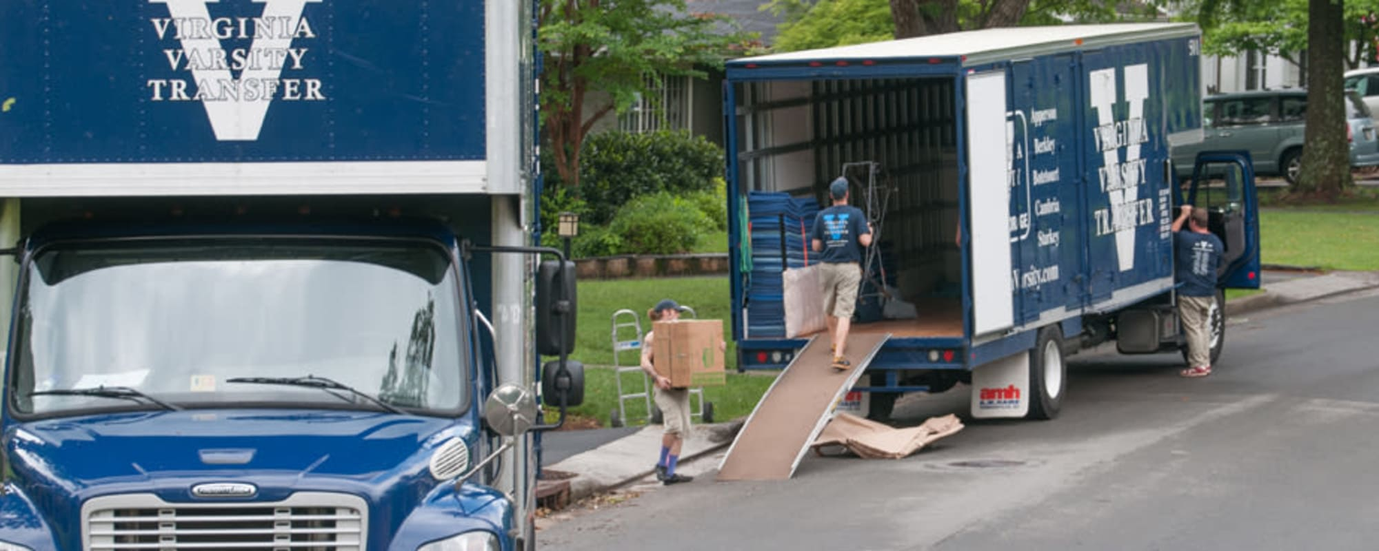 Local and long-distance movers, at Virginia Varsity Transfer in Salem, Virginia