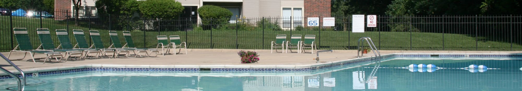 Fairway Trails in Ypsilanti offering 1 & 2 bedroom apartments