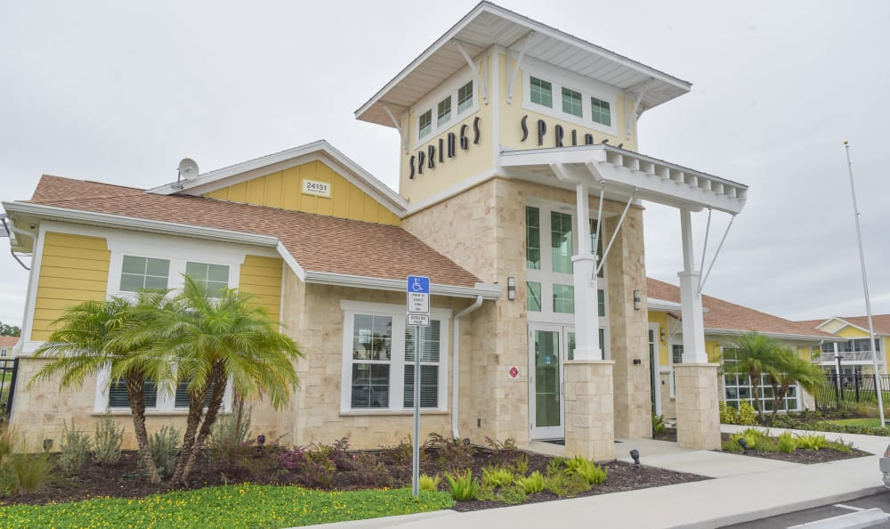 Clubhouse exterior at Springs at Port Charlotte in Port Charlotte