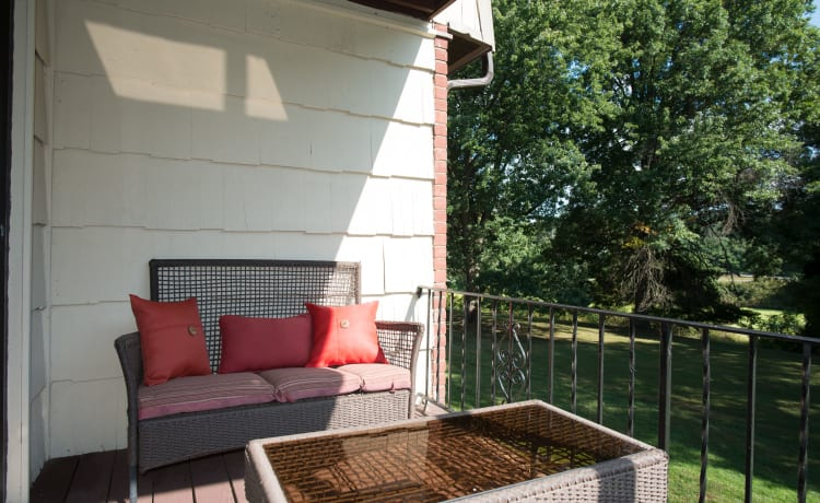 Chelsea Ridge Apartments offers a private balcony or patio with each apartment home in Wappingers Falls, NY