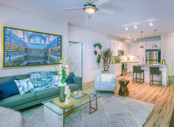 View our floor plans at Blu at Northline Apartments in Charlotte, North Carolina