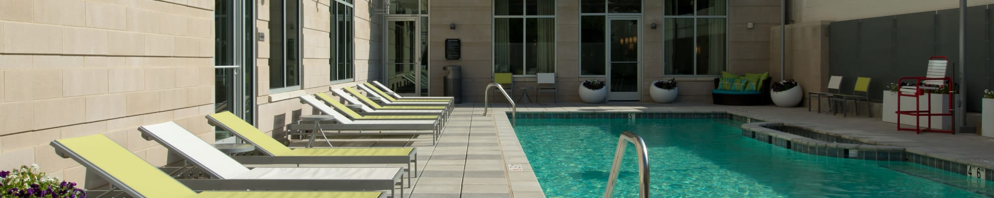 Amenities at Solaire 1150 Ripley in Silver Spring, Maryland