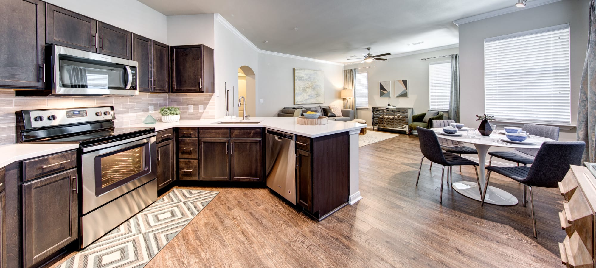 Floor plans at Marquis at Cinco Ranch in Katy, Texas