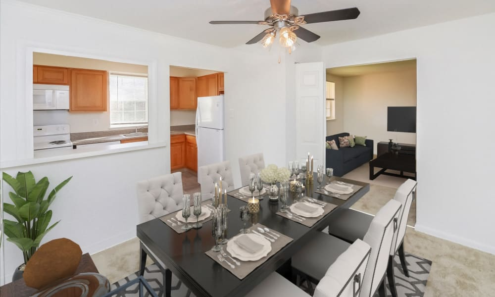 Dining Room at Woodacres Apartment Homes in Claymont, Delaware