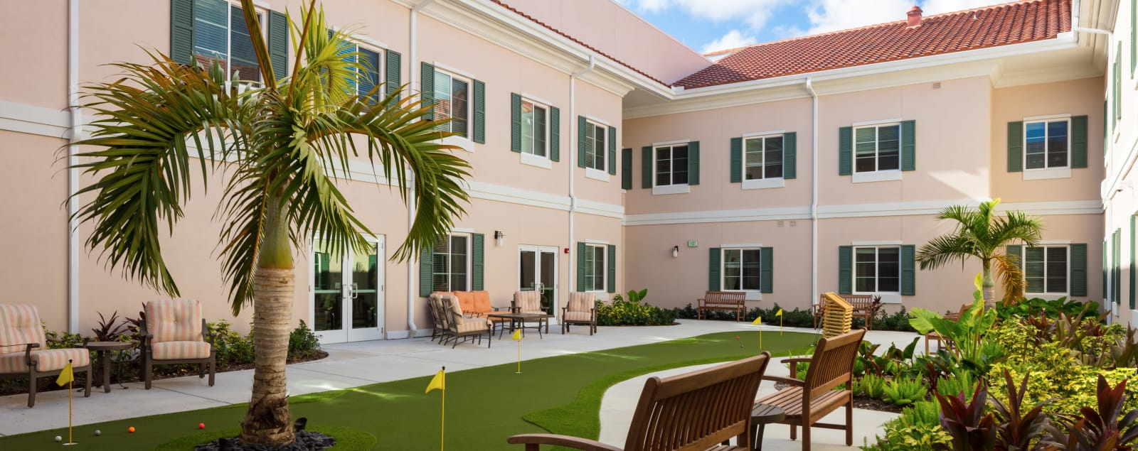 Assisted senior living in Palm Beach Gardens