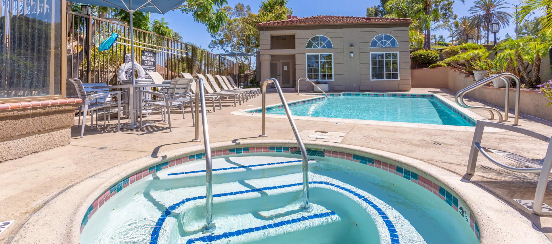 Hot Tub at Niguel Summit Condominium Rentals in Laguna Niguel, CA