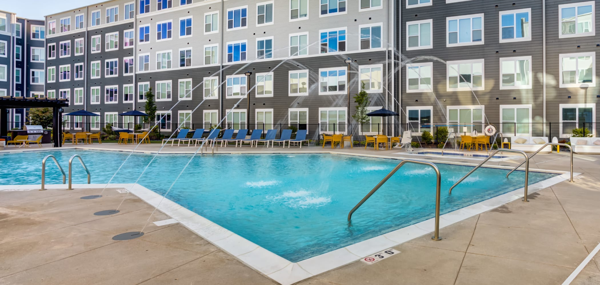 Our Apartments in Coralville, Iowa offer a Swimming Pool