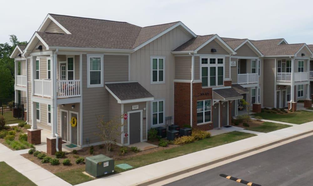 Apartment exterior at Springs at McDonough in McDonough, GA