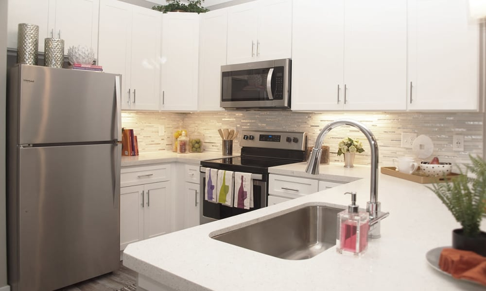 Modern Kitchen at Apartments in Louisville, Kentucky