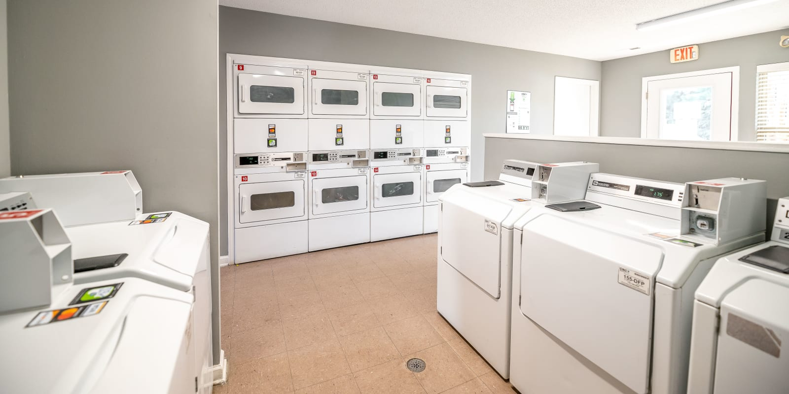 Laundry Center at Parkway Station Apartment Homes in Concord, North Carolina