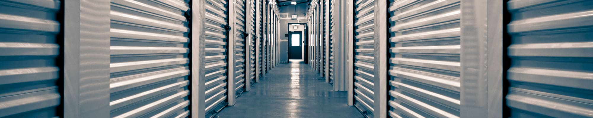 Climate-controlled storage at Store It All Self Storage - Del Norte in Laredo, Texas
