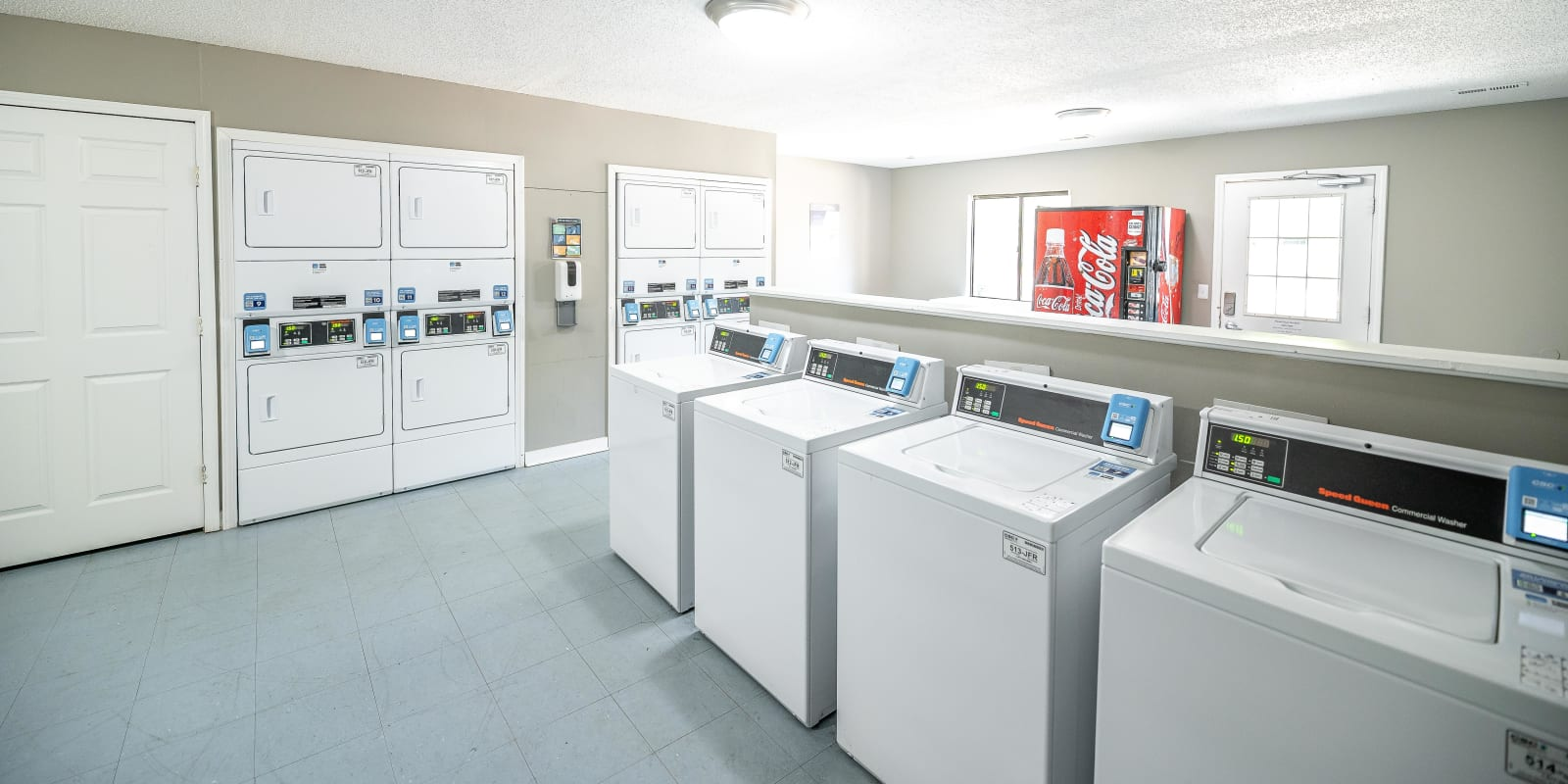 Laundry Facility at Waters Edge Apartment Homes in Concord, North Carolina