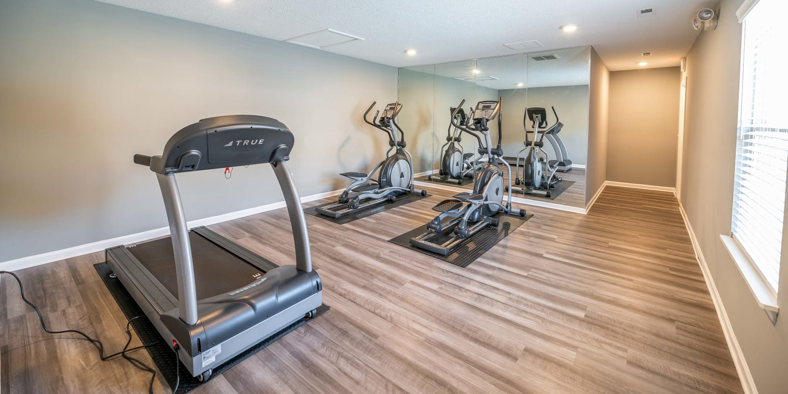 Fitness Center at Parkway Station Apartment Homes in Concord, North Carolina