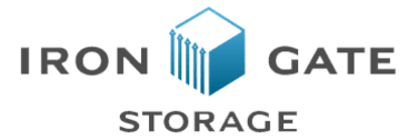 Iron Gate Storage - Orchards