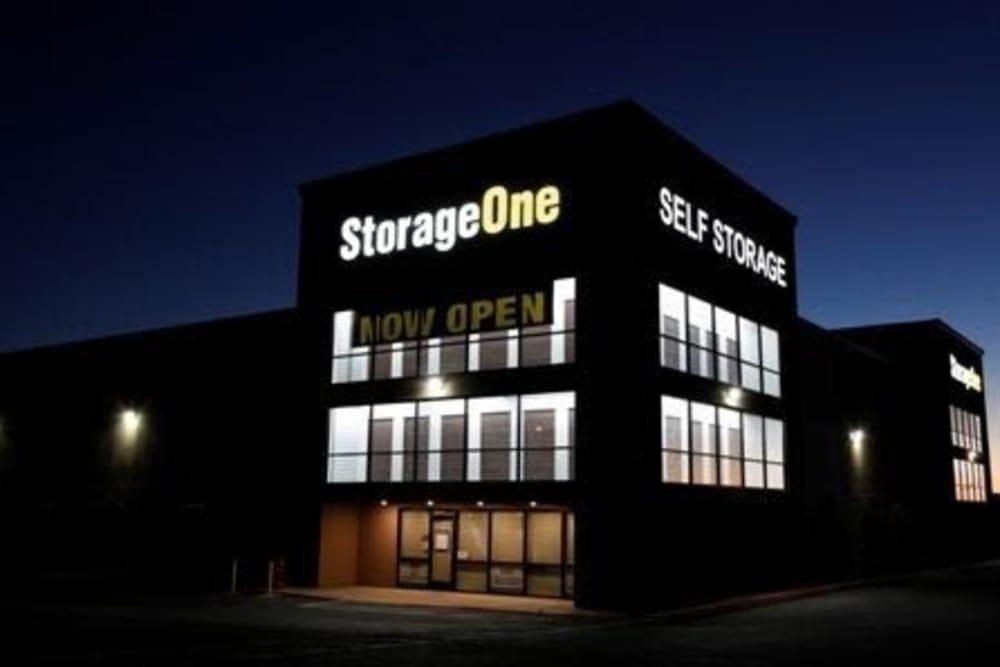 Exterior of StorageOne Maryland Pkwy & Tropicana in Las Vegas