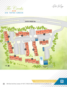 The Creek on Tates Creek Site Map