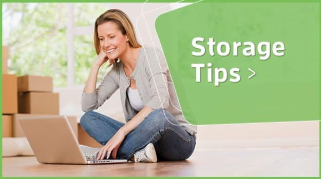 Get many helpful storage tips here.