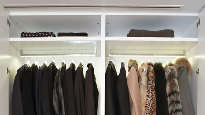 winter clothing storage