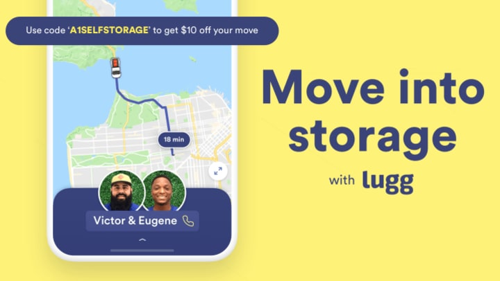 Move into storage with Lugg promotional photo