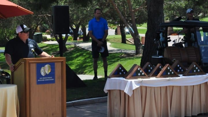 The SDPOA Widows and Orphans Golf Tournament is the biggest event of the year for the SDPOA, bringing in over $300,000 in 2017.