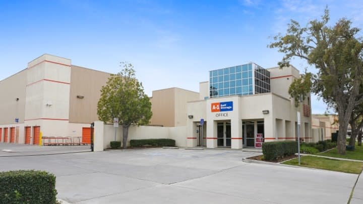 The front office at A-1 Self Storage on Monterey Highway in San Jose, California.