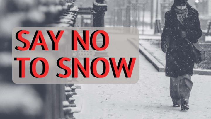 "Say No To Snow - choose the ""Snowbird"" life, and move down to San Diego, CA, during the winter months."