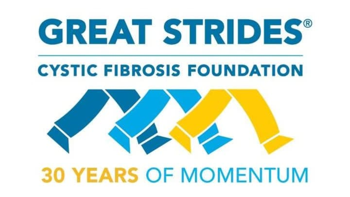 The Great Strides Walk is the largest fundraising drive for the Cystic Fibrosis Foundation.